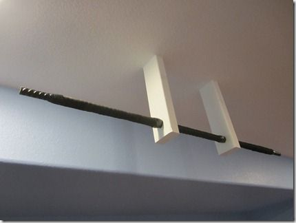 Our Homemade Pull Up Bar Made Mostly From Scraps 2x4 Offcuts And