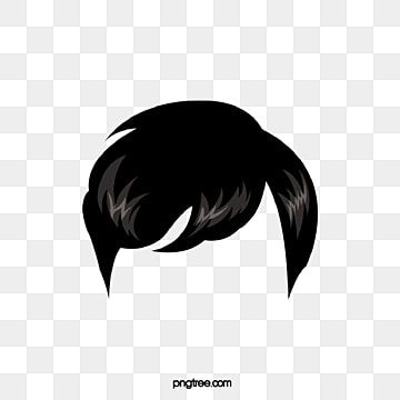 Wig Hairstyle Black Male Wig Clipart Wig Hairstyle Png And Vector With Transparent Background For Free Download In 2021 Hair Business Cards Creative Hairstyles Face Illustration