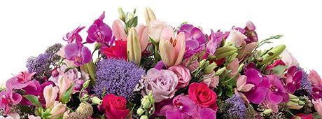 Condoleance Fleurs Deuil Fleurs De Saison Couronne Mortuaire