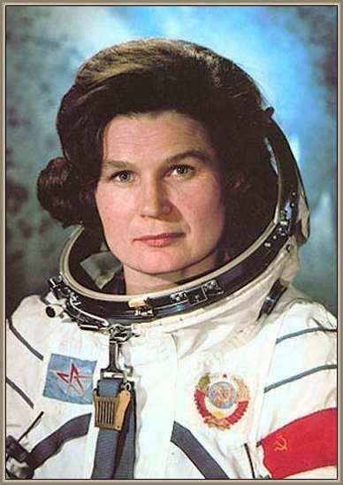valentina Tereshkova primer vuelo de una mujer