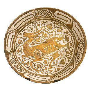 الخزف في العصر الفاطمي Civilization Lovers Islamic Art Decorative Plates Art