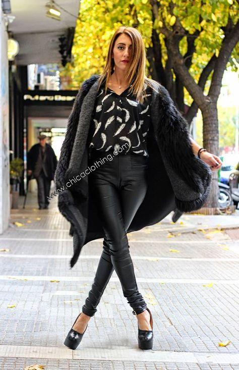 49ce2a67d18c Ασπρόμαυρη ουκαμίσα  shirt  tsimiski  fashionthessaloniki  chica zoe ...