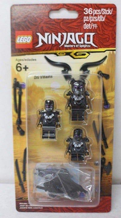 Free Shipping 2019 Lego Ninjago 853866 Oni Villains 3