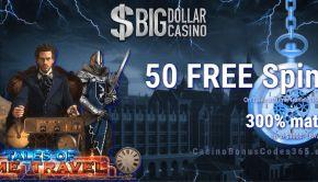 Big Dollar Casino 50 Free Chip Plus 300 Match Bonus Casino