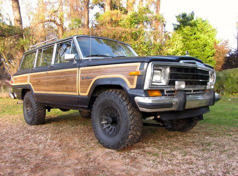 Modified 1990 Jeep Grand Wagoneer Jeep Jeep Grand Chevy Ls Engine