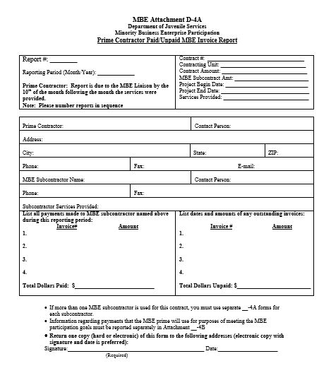 Contractor Invoice Report Templates Pinterest Template - project contact list template