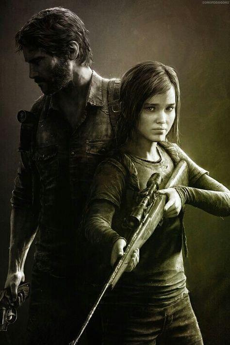 Joel & Ellie - The Last of Us