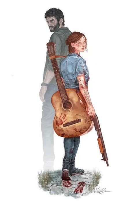 Sim! The Last of Us Part II☺  Credit goes to: Beautiful Art of Stephanie Cardoso (@Tntfatality)-Scardoso.Com ❤