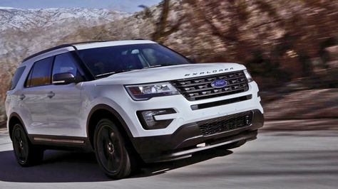 2017 Ford Explorer Xlt Sport Appearance Package Con Imagenes