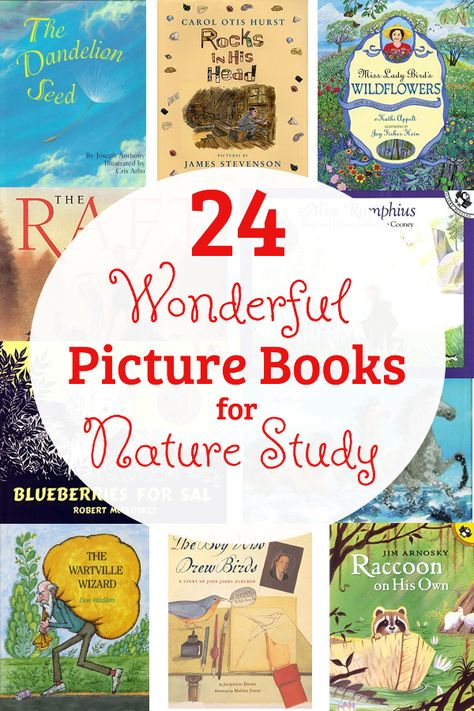24 Wonderful Picture Books for Nature Study