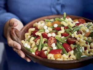 This Make Ahead Pasta Salad Is Coloured For Holiday Parties It S From Lidia Bastianich S Latest Cookbook Picnic Pasta Salad Pasta Salad Lidias Italy Recipes