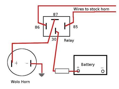 wolo horn wiring diagram wiring diagram car horn relay car horn  diagram  relay  wiring diagram car horn relay car