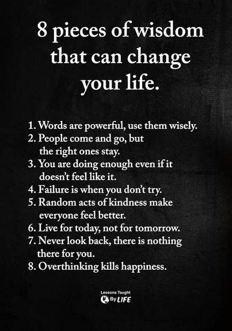 ❝ 8 pieces of wisdom… | www.facebook.com/iQuotation/photos/a… | Flickr