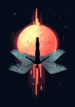 Icarus - the fall, or rotated 180 degrees, the flight. If you enjoy this pin, check out the book, Icarus and the Wing Builder.