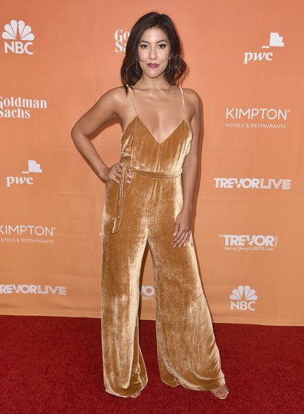 Stephanie Beatriz attends The Trevor Project's 2017 TrevorLIVE LA.
