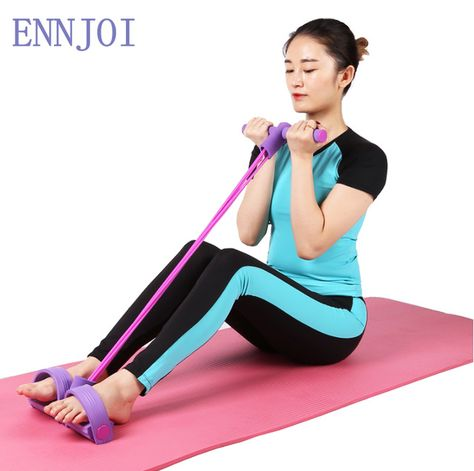 MaiTian Profession Elastic Fitness Resistance Band Rubber Chest Expander Adjustable Puller Crossfit Exercise Indoor Sport Muscle Workout