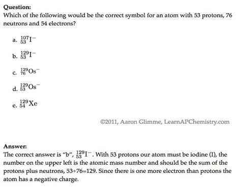 Teachersu0027 Domain Atomic Structure of an Alloy Chem - Gen - new periodic table atomic mass protons