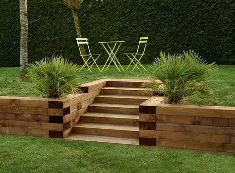 1000+ Ideas About Bordure Jardin Bois On Pinterest | Bordure Bois ...