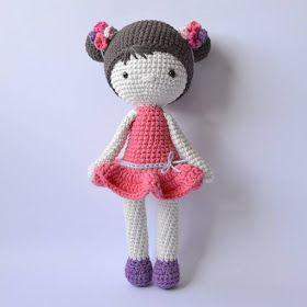 Boneca Chloe em Crochê - Amigurumi | Bonecas, Bonecas de crochê ... | 280x280