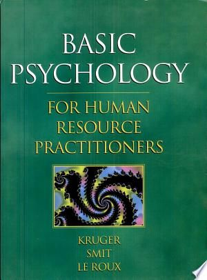 Basic Psychology For Human Resource Practitioners Pdf Free In 2020