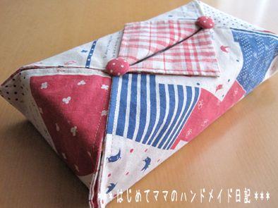 簡単 boxティッシュカバー ティッシュカバー 作り方 ティッシュカバー 縫製プロジェクト