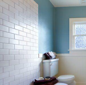 Area 10 X 3 Ceramic Bullnose Tile Trim In White Small Bathroom Tile Trim Bathroom Layout