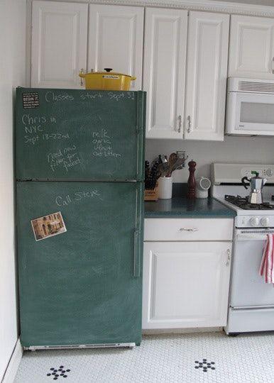 Beyond The Chalkboard Fridge Decorated Refrigerators Chalkboard