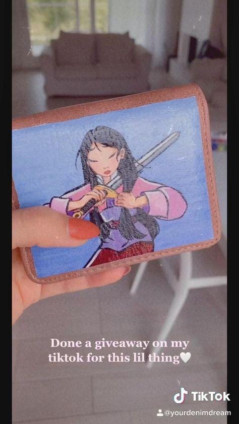 Giveaway On My Tiktok Video Disney Concept Art Disney Wallpaper Acrylic Painting Tips