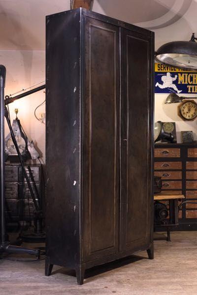Meuble Industriel Ancienne Armoire Forte Bauche