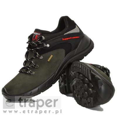 Niskie Skorzane Zamszowe Polbuty Red Rock 11106 Hiking Boots Boots Shoes
