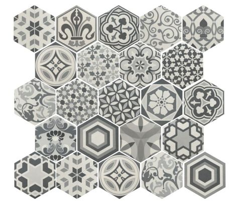Hexagonal Garden Google Search Imitation Carreaux De Ciment
