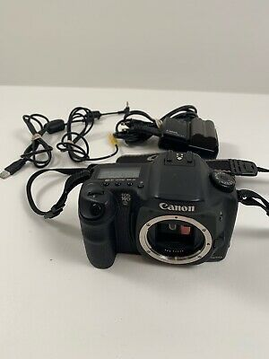 Canon Eos 10d Dslr Camera Body Tested Works W Charger 2 Digital Slr Camera Digital Camera Eos