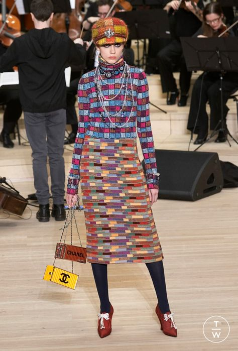Chanel Métiers d'Art - Pre-Fall 2018 - Look 34
