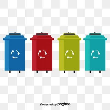 Classification Recyclable Trash Can Vector Material Color Trash Can Png Transparent Clipart Image And Psd File For Free Download Trash Can Trash Recycling