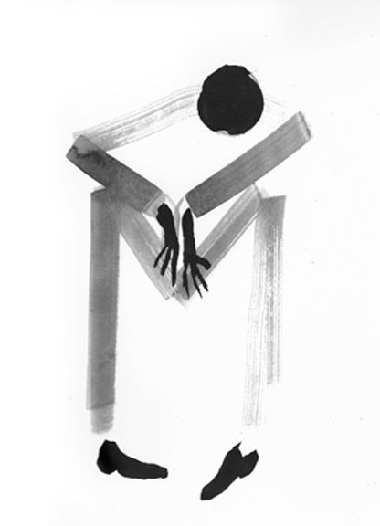 #art #black and white #sketches #paintings - Stripeman
