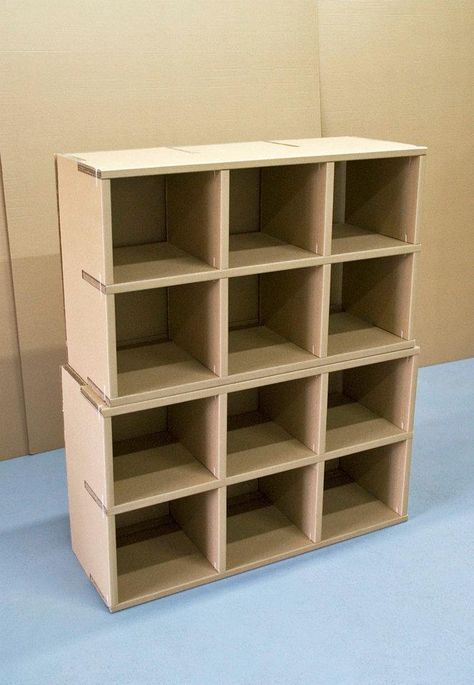 Mache Over Top Different Sized Boxes Cardboard Furniture Design Cardboard Furniture Diy Cardboard Furniture