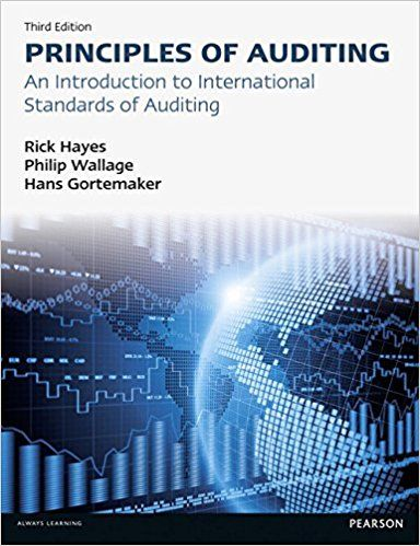 Solution Manual For Principles Of Auditing An Introduction To International Standards On Auditing 3rd Edition的图片 1 Audit Introduction Solutions