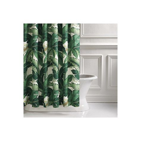Lanai Palm Shower Curtain 379 Liked On Polyvore Featuring