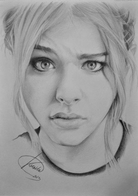 Chloe Grace Moretz by KsenitaDraw