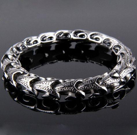 Platinum over Sterling Silver .925 Infinity Bangle Bracelet Hot New Gift idea