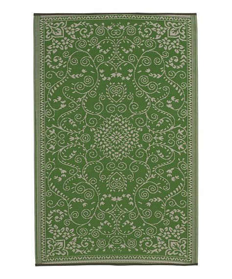 Look At This Lime Green Cream Murano Reversible Indoor Outdoor Rug On Zulily Today