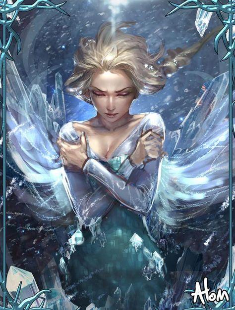 Frozen by atomiiii on DeviantArt