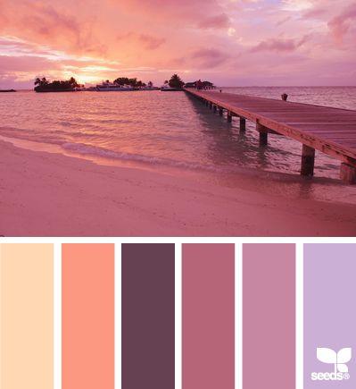 Beautiful color palette...