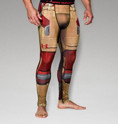 0f0d4c3021f168 Men's Under Armour® Alter Ego Iron Man Compression Leggings