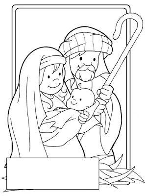 Para Colorear Dibujos Navidenos Paginas Para Colorear De Navidad Pesebres Para Colorear Artesania Biblica