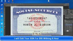 Card Template Psd Regarding Social Security Card Template Photoshop Social Security Card Free Business Card Templates Recipe Cards Template