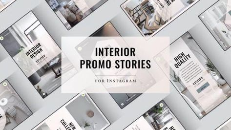 15 Interior Design Instagram Story - After Effects Template