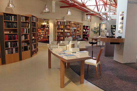 """Bookstore """"De Drukkerij""""   Middelburg, The Netherlands"""