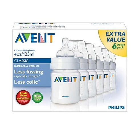 Philips AVENT 4 Oz BPA Free Bottles  6 Pack -- Check this awesome product by going to the link at the image.