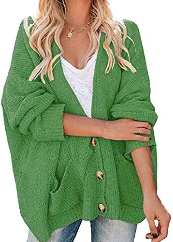New Womens Cardigans Long Sleeve Cable Knit Cardigan